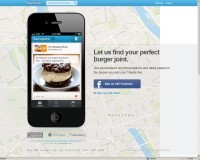 Serwis internetowy Foursquare pokaże ci twoją bieżącą lokalizację na mapie, informując o miejscach, które mogą cię zainteresować.