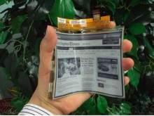 Ekran LG, w którym zastosowano technologię e-papieru.