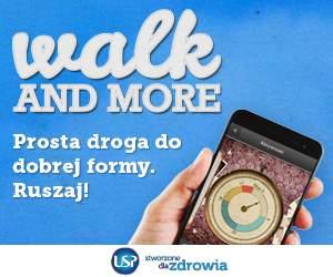 Walk and More ma zachęcić użytkowników smartfonu do ruchu