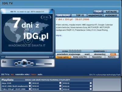 Telewizja IDG.pl w nowej odsłonie!