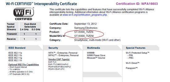 Certyfikat Wi-Fi Aliance