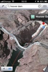Mapy z iOS 6