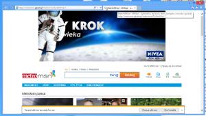 Przeglądarka Internet Explorer w wersji 10