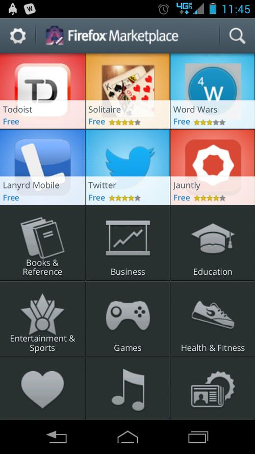Firefox Marketplace