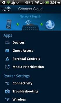 Aplikacja mobilna Cisco Connect Cloud