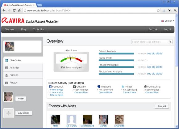 Na portalu SocialShield można przejrzeć wszystkie alerty
