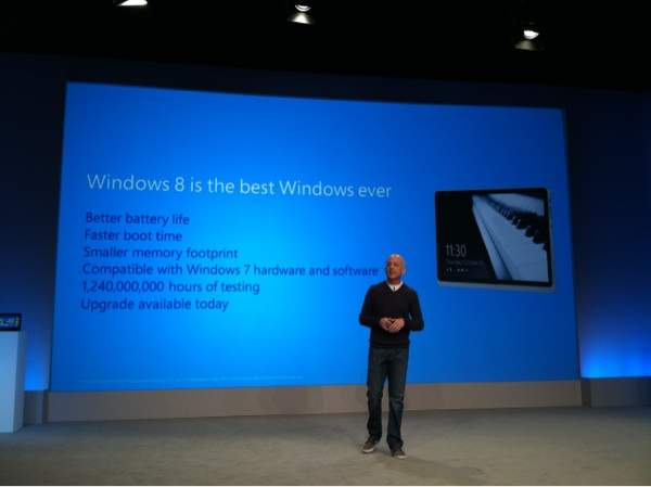 Steven Sinofsky zachwala system Windows 8