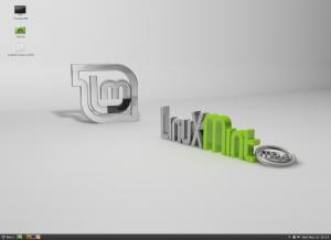 Linux Mint z interfejsem Cinnamon