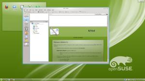 OpenSuse 12.2 z KDE
