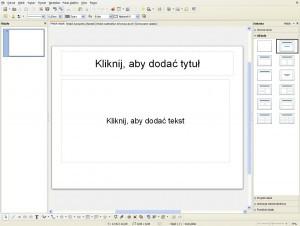 Libre Office Impress - prezentacje za darmo