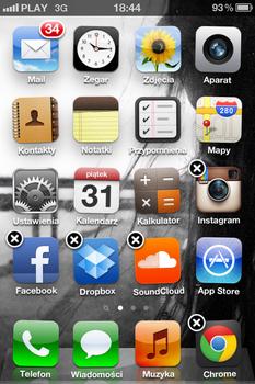 Tak wygląda ekran główny iPhone'a