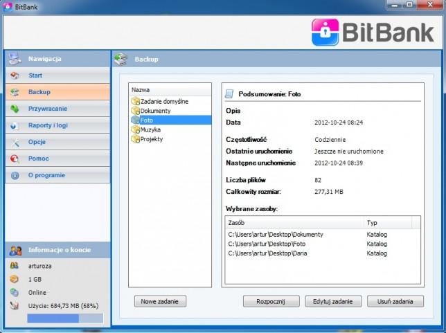 Backup online - dane bezpieczne w chmurze
