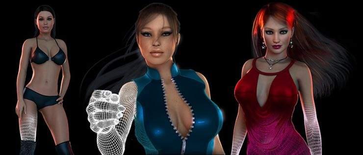 Virtual reality dating games