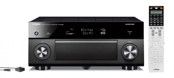 Wysokiej klasy amplitunery kina domowego (na zdjęciu: Yamaha A3020) wykorzystują dwa procesory dźwięku, a także innowacyjne rozwiązania takie jak wielopunktowe pomiary dźwięku, aby zbadać akustykę pomieszczenia i optymalnie dopasować do niego ustawienia poszczególnych parametrów.