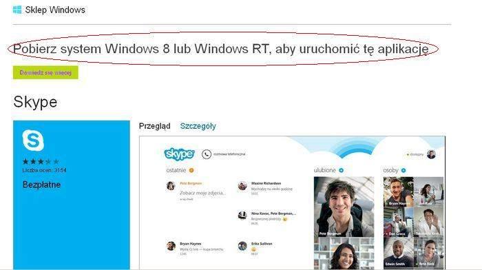 Skype dla Windows