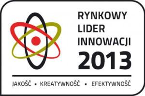 Rynkowy Lider Innowacji 2013 - EVER