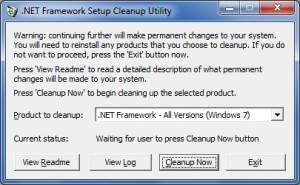Usuwanie bez pozostałości – za pomocą tego narzędzia odinstalujesz wszystkie wersje i składniki platformy .NET Framework, które nie wchodzą w skład systemu operacyjnego.
