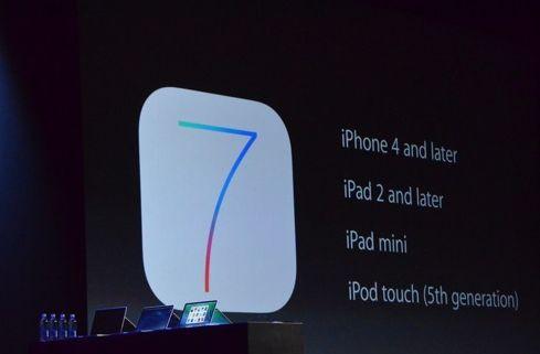 iOS 7 - kompatybilność