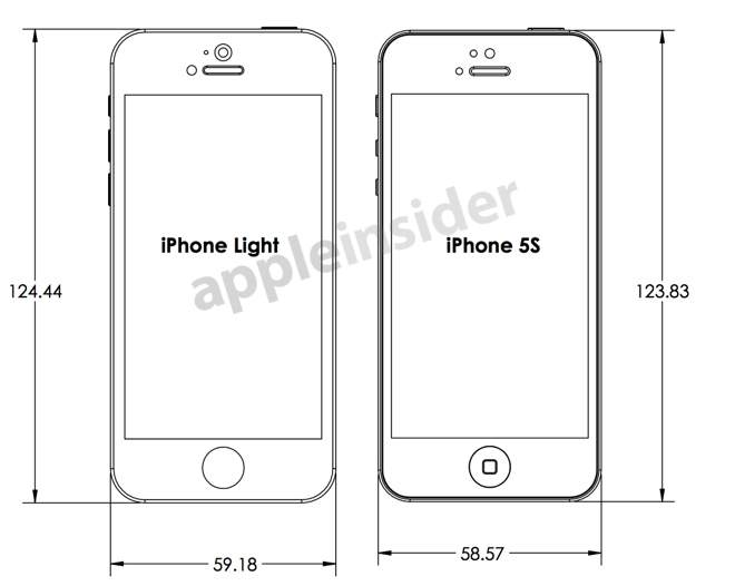 Apple iPhone 5S i iPhone Light