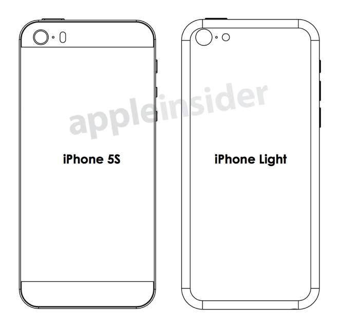 Apple iPhone 5S i iPhone Light