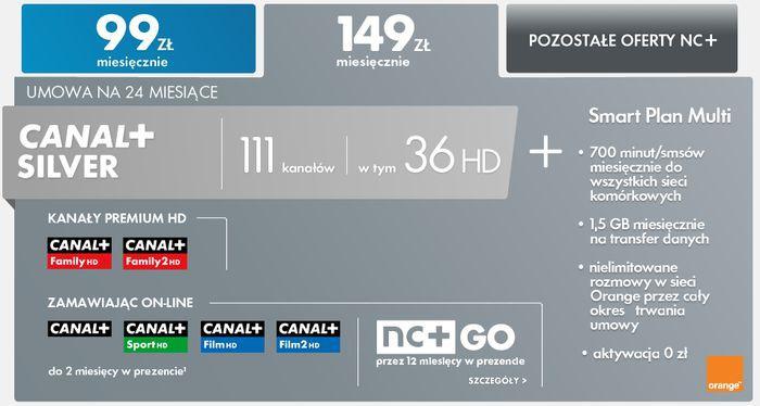 NC+ wprowadza ofertę połączoną z telefonami od Orange, w tym Galaxy S III mini