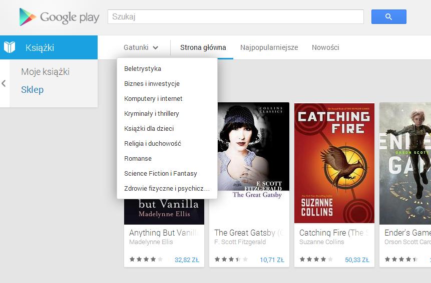 Książki w Google Play