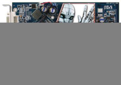 Procesor Radeona X1650 PRO to RV530 tyle że wykonany w procesie technologicznym 80 nm