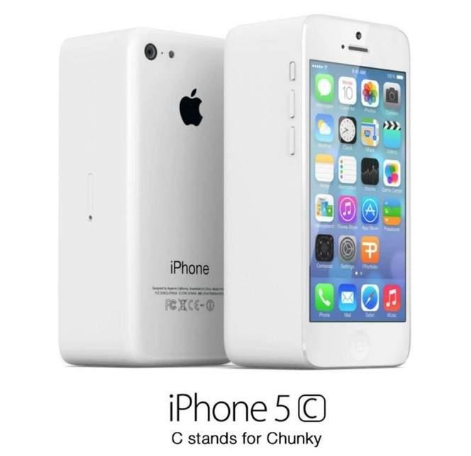 iphone 5C - masywny