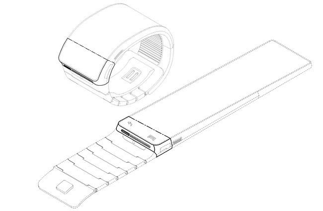 """""""Inteligentny"""" zegarek Samsunga: patent ujawnia, jak może wyglądać"""