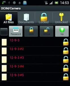 Aplikacja File Locker szyfruje na życzenie pliki i całe foldery. Jednak nie ukrywa tak zabezpieczonych zasobów.