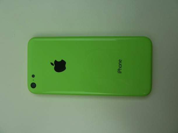 iPhone 5C - zielony