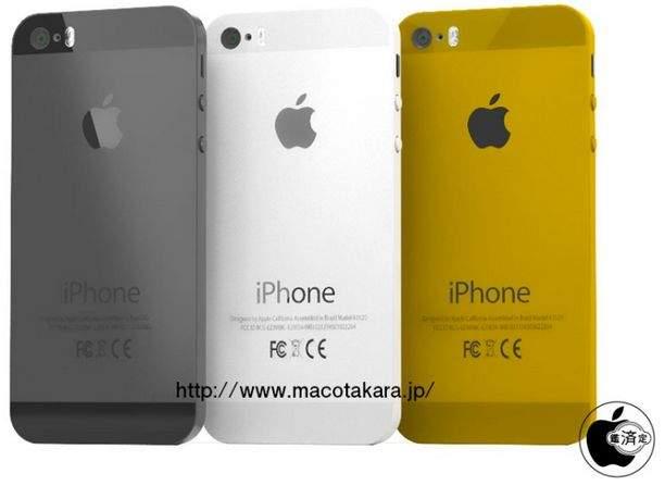 iPhone 5S - złoty