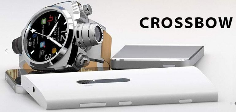 "Hyetis Crossbow, ""inteligentny"" zegarek z aparatem...41 mln pikseli"