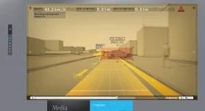Producenci samochodów (tu: Mercedes) demonstrują działanie systemów bezpieczeństwa aktywnego w efektownych animacjach na swoich stronach internetowych.