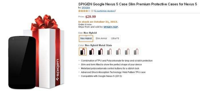 Pokrowiec dla smartfona Nexus 5