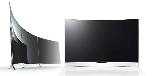 Telewizor LG z zakrzywionym ekranem OLED