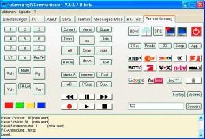 Sterowanie telewizorem Samsunga za pomocą peceta – ten program nie tylko przeobraża komputer w pilota, lecz ponadto pozwala dostosować układ klawiszy do własnych potrzeb.
