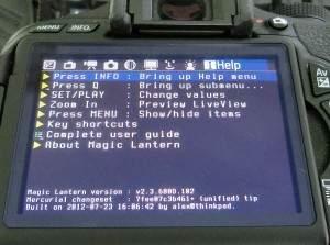 Nakładka Magic Lantern uzupełnia lustrzanki Canona o dodatkowe funkcje. Współpracuje jednak tylko z niektórymi modelami EOS wyposażonymi w określoną wersję firmware'u.