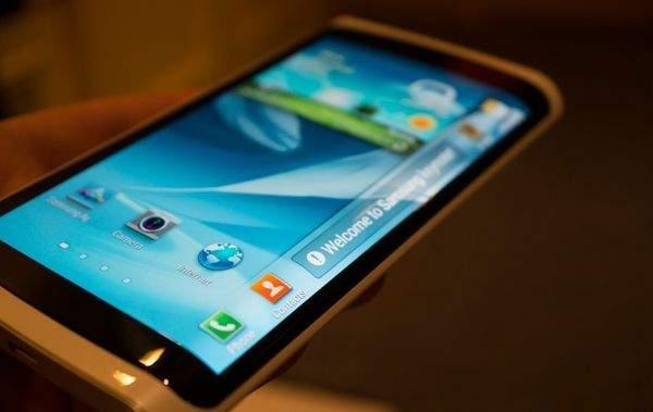 Elastyczny ekran Samsunga