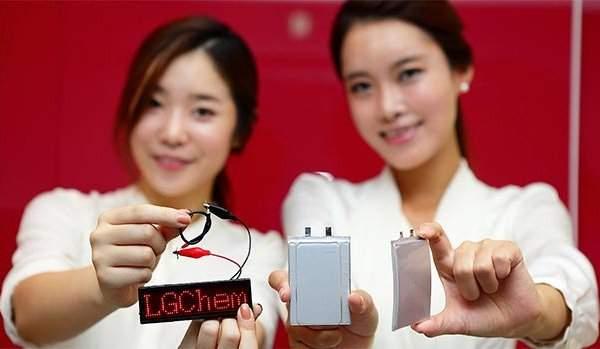 LG Chem - zakrzywiony akumulator