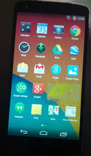 Nexus 5 i Android 4.4 KitKat