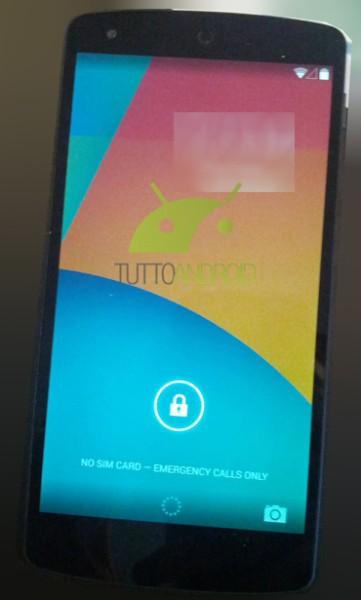 Nexus 5 z Androidem 4.4 KitKat na zdjęciach. Premiera 15 października