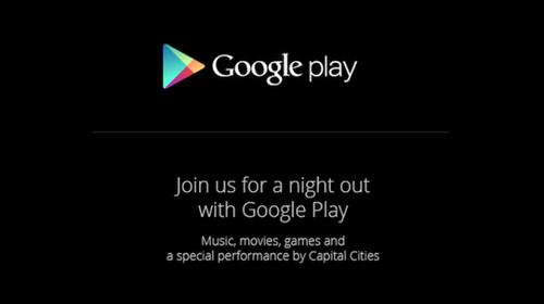 Zaproszenie na konferencję Google