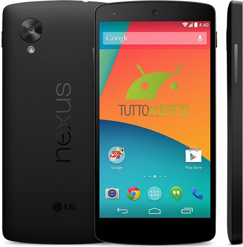 Specyfikacja LG Nexus 5 już niemal w całości dostępna w sieci