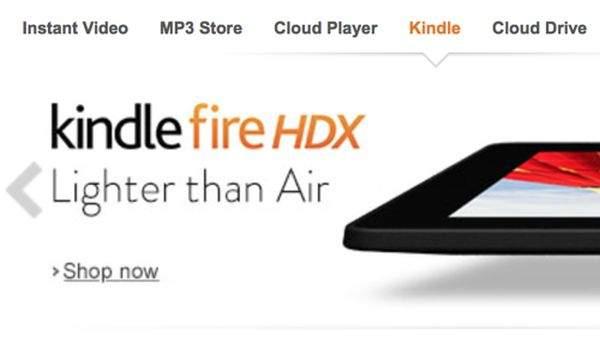 """Kindle Fire HDX 8,9"""" jest lżejszy od iPada Air"""