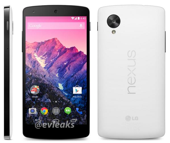 Nexus 5 - biała wersja