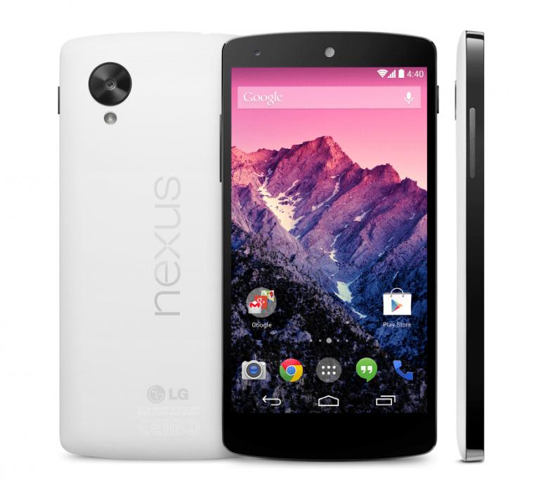 Nareszcie! Android 4.4 KitKat i LG Nexus 5 oficjalnie zaprezentowane