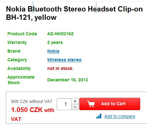 """Nokia """"Guru"""" w czeskim sklepie"""