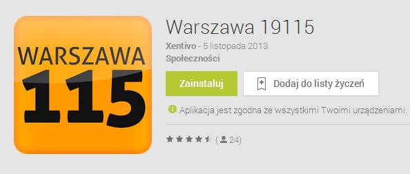 Warszawa 19115 Android