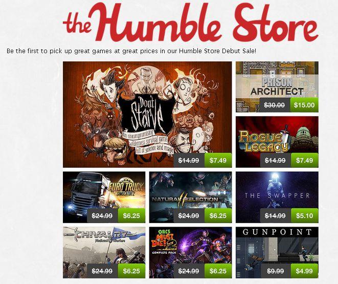 Korzystacie z Humble Bundle? Skorzystacie też z Humble Store!